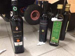 olio extravergine d'oliva nei magazzini e sugli scaffali solo olio di sanza