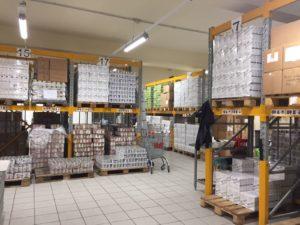 magazzino pieno