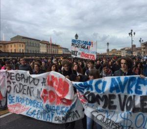 Manifestazione studentesca, novembre 2019